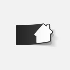 realistic design element: house, building