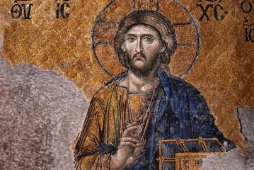 Mosaic of Jesus Christ Wall mural