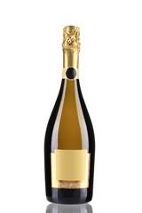 Bottle of champagne.