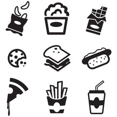 Snack Icons