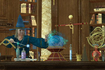 Sorcerer Magician