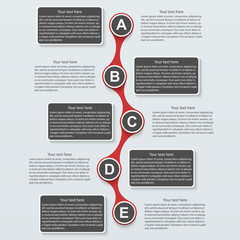 Business Infographic. Design template
