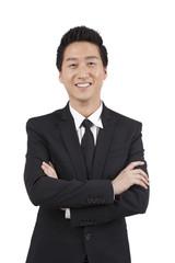 .Portrait of a Confident Businessman.