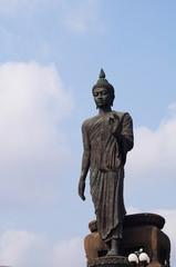 Buddha image standing