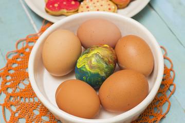 Organic Easter Eggs