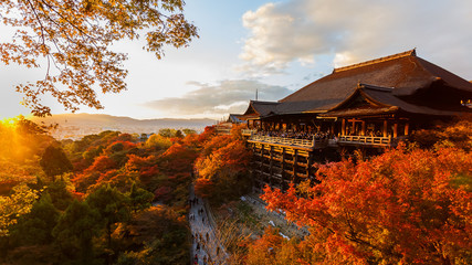 Photo sur Toile Japon Kiyomizu-dera temple in Kyoto