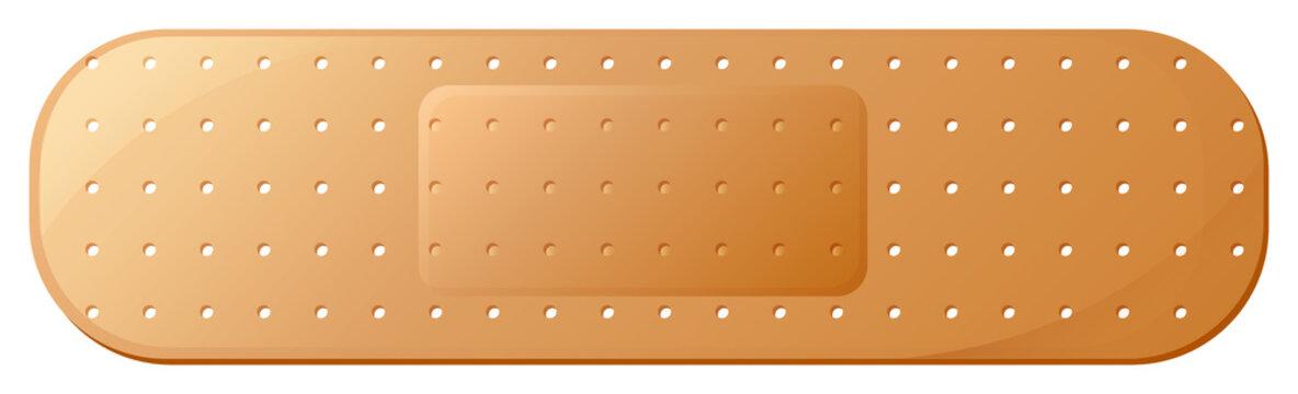 A medical plaster