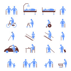 Icon Set Senioren