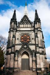 Lodz City landmark, XIXth century Chapel of Karl Scheibler