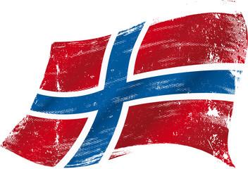 norwegian grunge flag