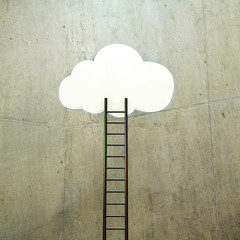 cloud with ladder