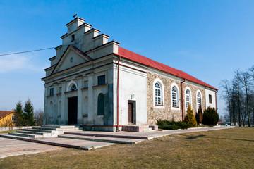 Church of Saint Wojciech in Poryte Village, Podlachia, Poland