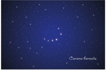 Constellation Corona borealis