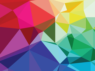 Background texture triangle geometry colorful painting art