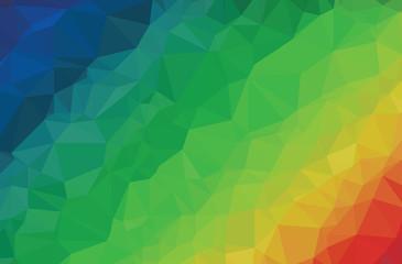 Background modern texture triangle rainbow color spectrum