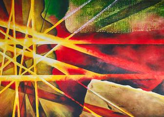 Abstrakter Kunstdruck Ölgemälde Gemälde