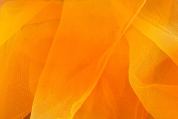 Orange and yellow textile