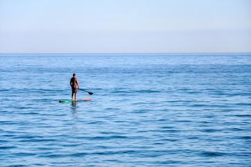 Guy on a surf, Bertioga (Brazil)