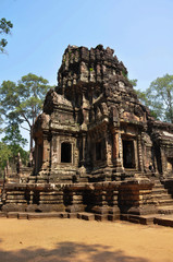 Chau Say Thevoda Castle, Angkor Wat, Cambodia