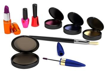 realistic 3d model of cosmetics