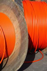 Rolling fast internet out. Broadband access through fiber.
