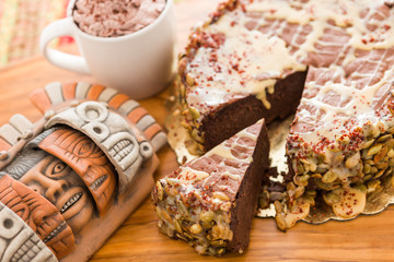 Maya Spice torte