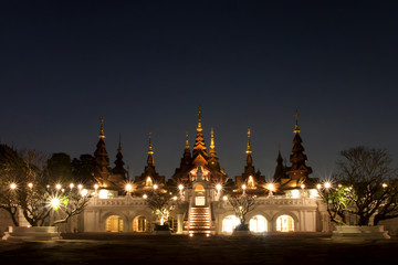 CHAIANG MAI, THAILAND - JANUARY 26, 2014 : The luxury resort : M