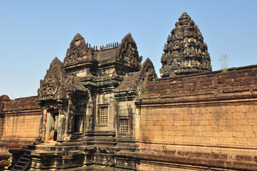 Banteay Samre Prasat is ancient buddhist khmer temple in  Cambod