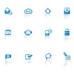 Web icon set,vector
