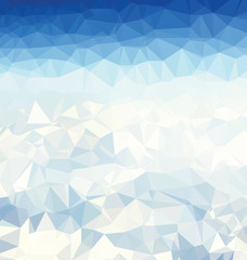 Background modern texture triangle geometry snow inspiration