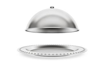 Silver Restaurant cloche