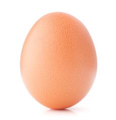 Egg isolated on white background cutout
