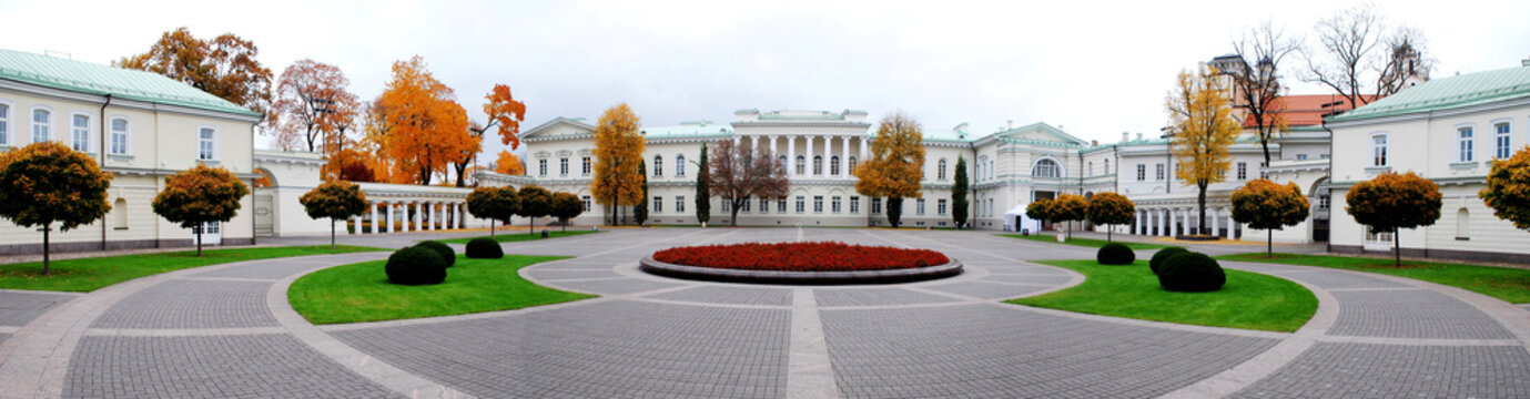 The Presidential Palace in Vilnius, residence of the President
