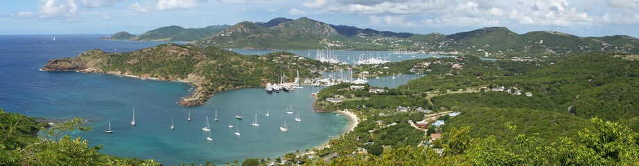 English Harbour und Nelsons Dockyard, Antigua, Karibik