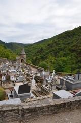 Village de Conques, cimetière