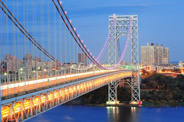 Fototapete - George Washington Bridge