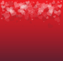 Idea of a Valentines Day Card background