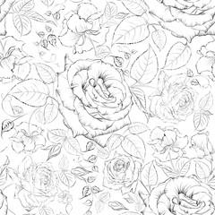Rose seamless.