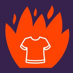 fire surround  T-shirt.