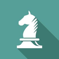 Vector Logo horse of chess