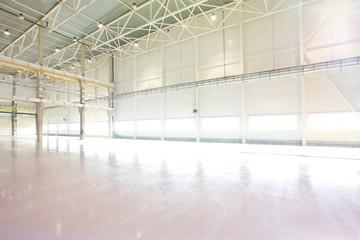 Empty Modern factory workshop