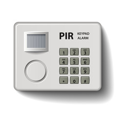 vector motion detector keypad infrared alarm
