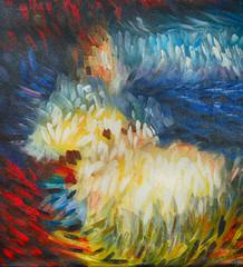 Ölgemälde Gemälde Kunstdruck artprint Kunst