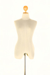 tailor mannequin  on white background