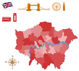 City map of London