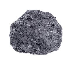 Stone  isolated on white background