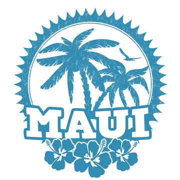 Maui stamp