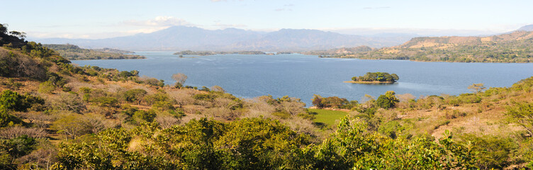 View at lake Suchitlan near Suchitoto