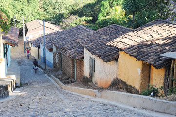 Colonial town of Suchitoto