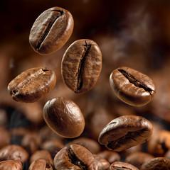 Poster de jardin Salle de cafe coffee beans